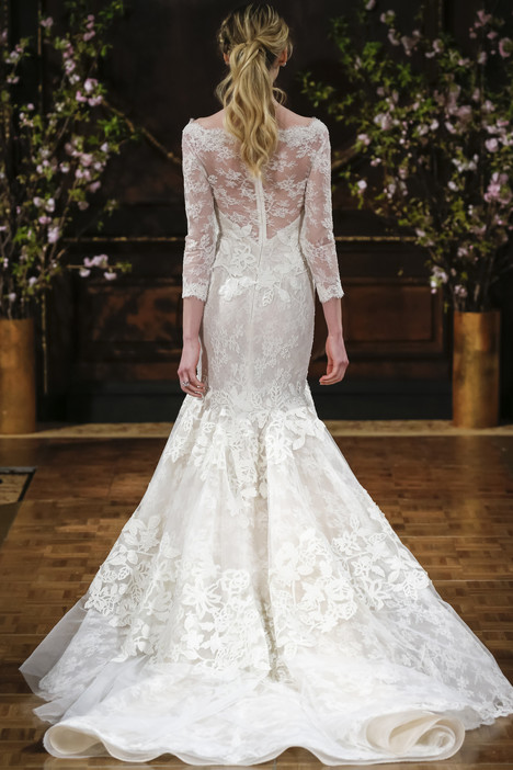 Broke (back) Wedding                                          dress by Isabelle Armstrong