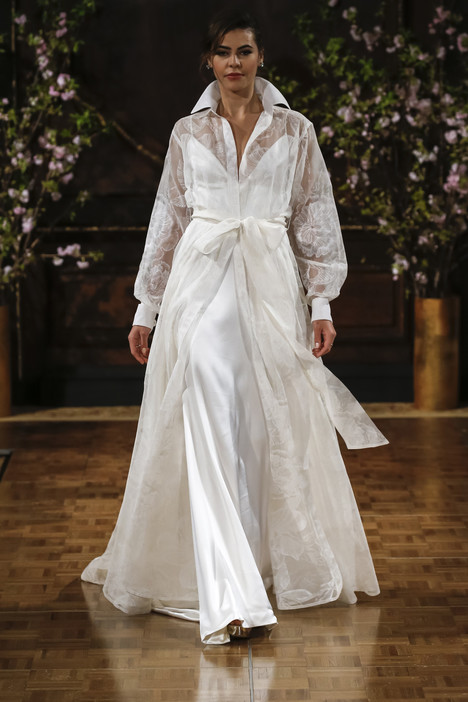 Drew Wedding                                          dress by Isabelle Armstrong