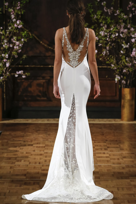 Storm (back) gown from the 2017 Isabelle Armstrong collection, as seen on dressfinder.ca