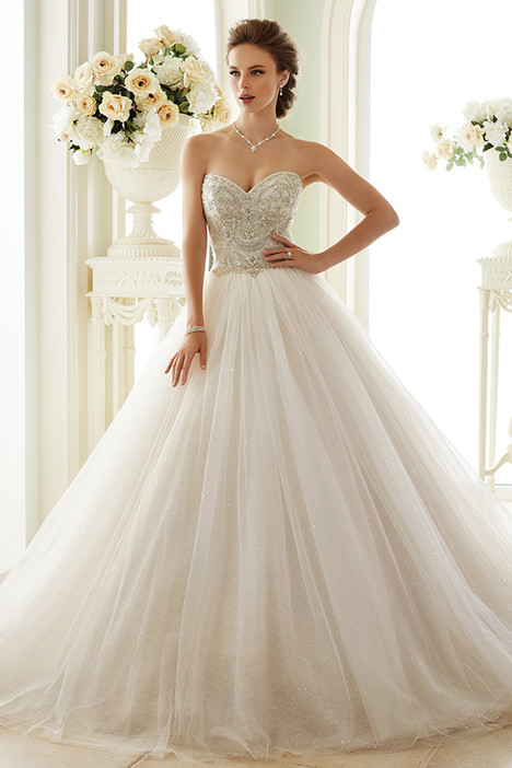 Y21663 - Novella Wedding                                          dress by Sophia Tolli