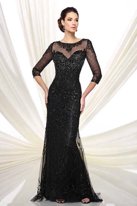 216D42 (black) Mother of the Bride                              dress by Montage : Ivonne D Collection