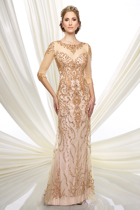 216D42 (gold) Mother of the Bride                              dress by Montage : Ivonne D Collection
