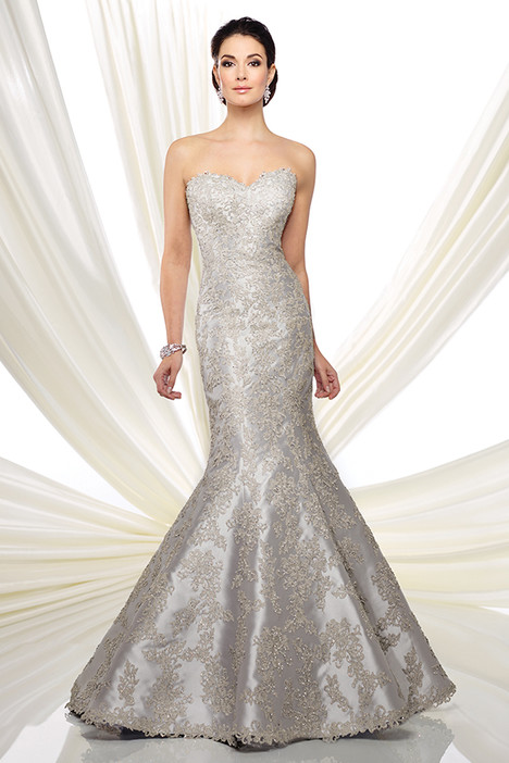 216D43 (silver) Mother of the Bride                              dress by Montage : Ivonne D Collection