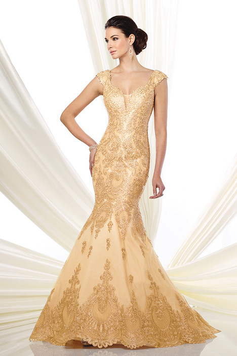 216D47 (gold0 Mother of the Bride                              dress by Montage : Ivonne D Collection