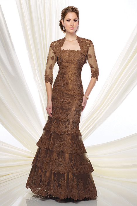 216D49 (bronze) (dress + jacket) Mother of the Bride                              dress by Montage : Ivonne D Collection