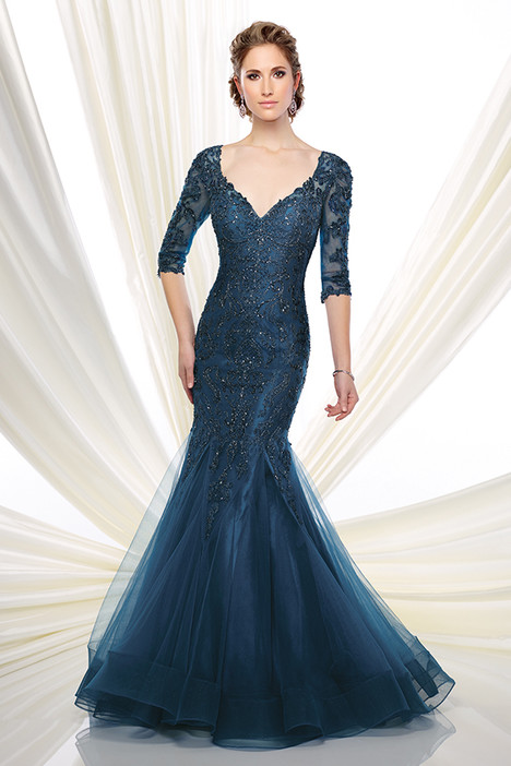 216D50 (blue) Mother of the Bride                              dress by Montage : Ivonne D Collection