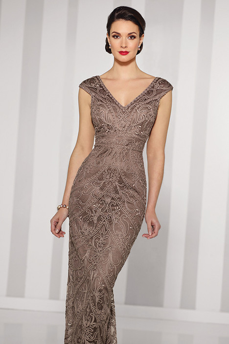 216693 (taupe) Mother of the Bride                              dress by Cameron Blake