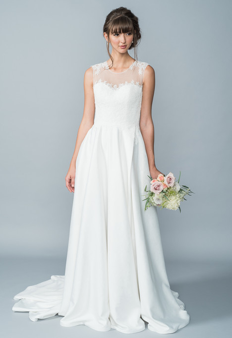 Hannah Wedding                                          dress by Lis Simon
