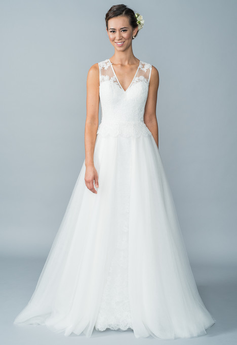 Hathaway + overskirt gown from the 2016 Lis Simon collection, as seen on dressfinder.ca