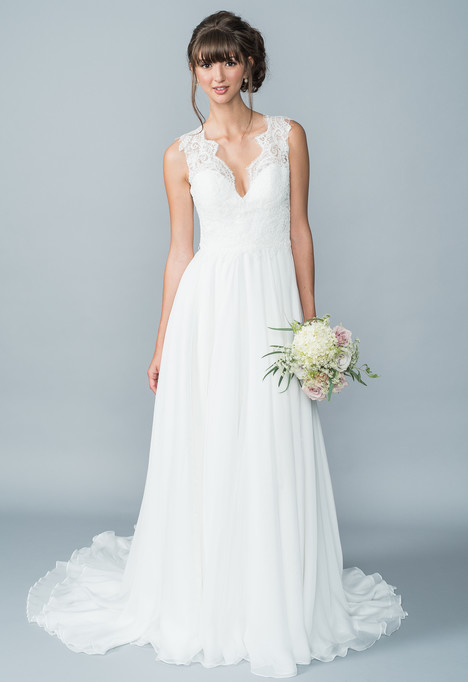 Hayden Wedding                                          dress by Lis Simon