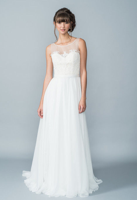 Hudson Wedding                                          dress by Lis Simon