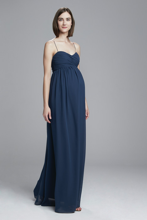 Janan (french-blue) Bridesmaids                                      dress by Amsale : Bridesmaids