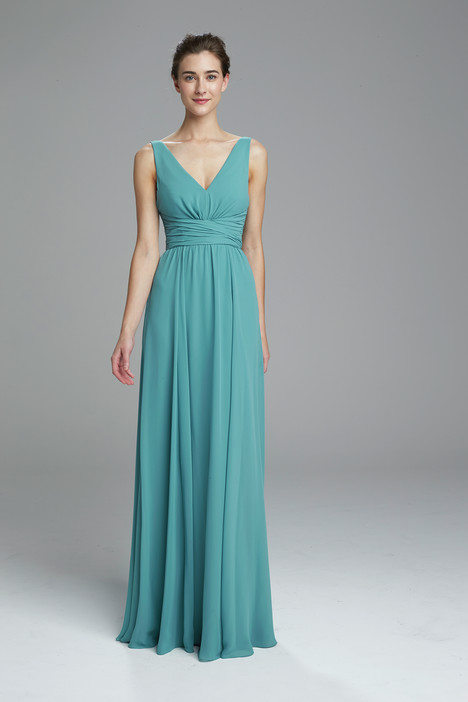 Justine (teal) Bridesmaids                                      dress by Amsale : Bridesmaids