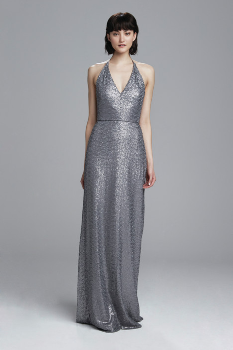 Sigourney (gunmetal) gown from the 2017 Amsale : Bridesmaids collection, as seen on dressfinder.ca