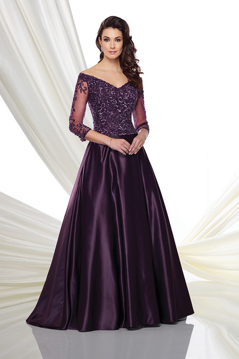 216980 (eggplant) Mother of the Bride                              dress by Montage by Mon Cheri