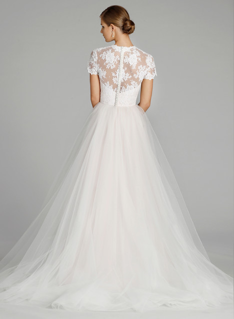 9655 (back) Wedding                                          dress by Alvina Valenta