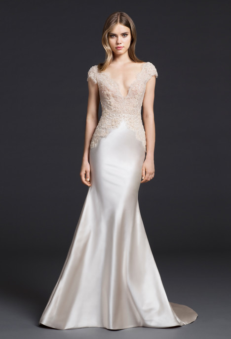 Wedding dress by Lazaro