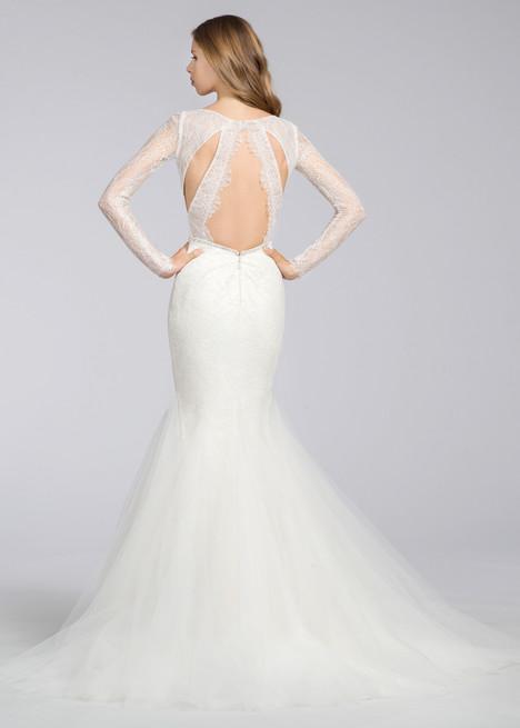 8661 (back) Wedding                                          dress by Jim Hjelm