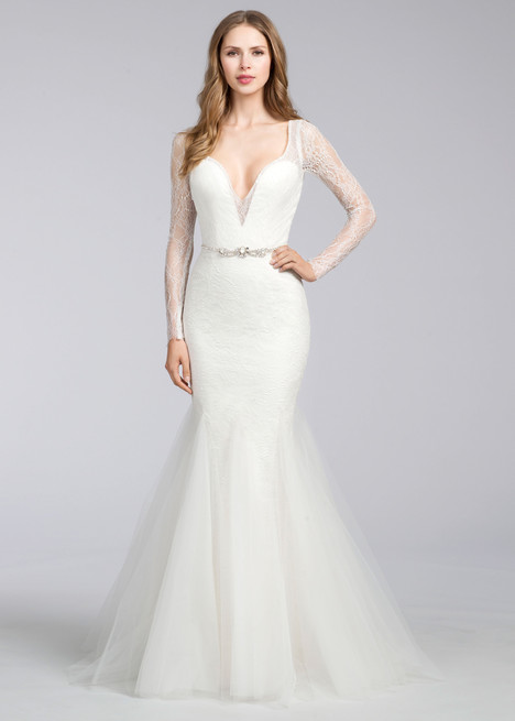 8661 Wedding                                          dress by Jim Hjelm