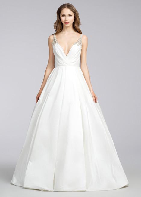 8668 Wedding                                          dress by Jim Hjelm