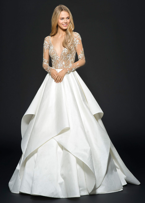 Collins (6650) gown from the 2016 Hayley Paige collection, as seen on dressfinder.ca