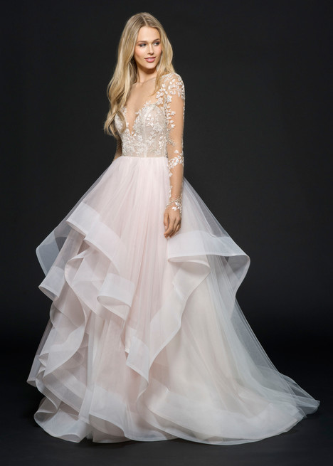 Style 6654, Lorelei gown from the 2016 Hayley Paige collection, as seen on dressfinder.ca