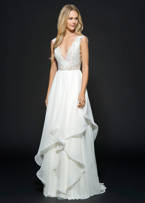Style 6658, Leigh gown from the 2016 Hayley Paige collection, as seen on dressfinder.ca