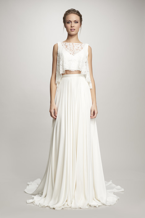 890255 (top + skirt) Wedding dress by Theia White Collection