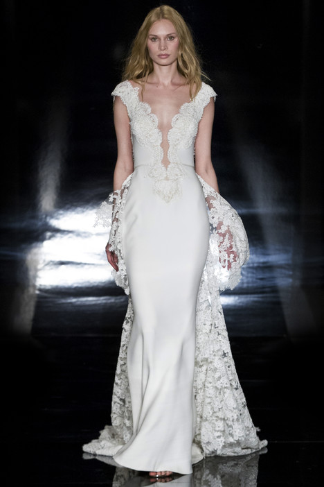 Bella Wedding                                          dress by Reem Acra