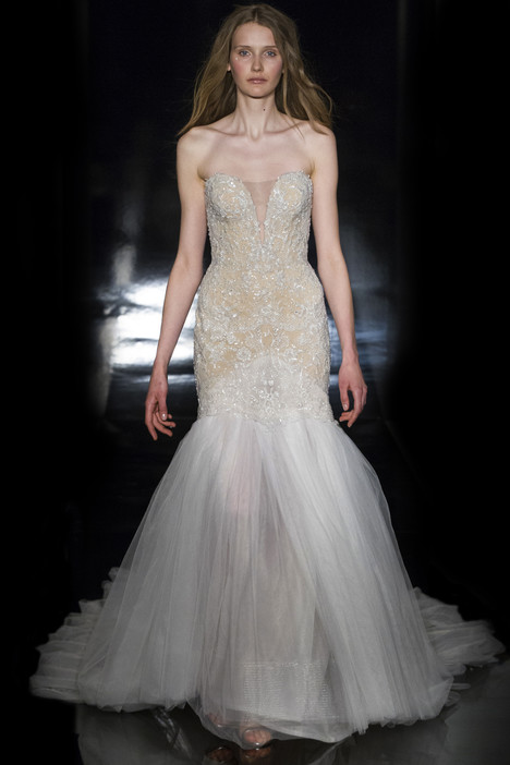 Mariela Wedding                                          dress by Reem Acra