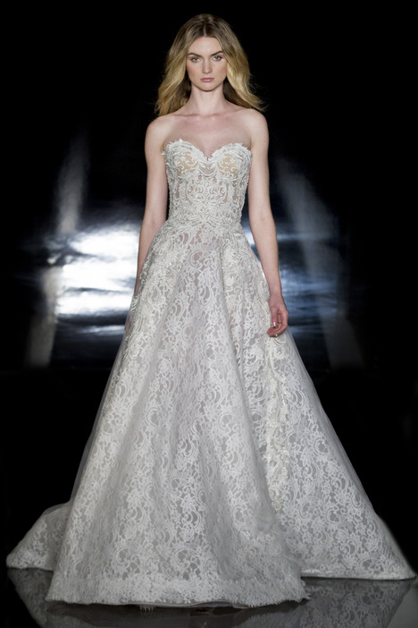 Leonora Wedding                                          dress by Reem Acra
