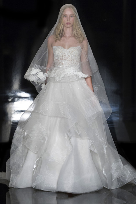 Domenica Wedding                                          dress by Reem Acra