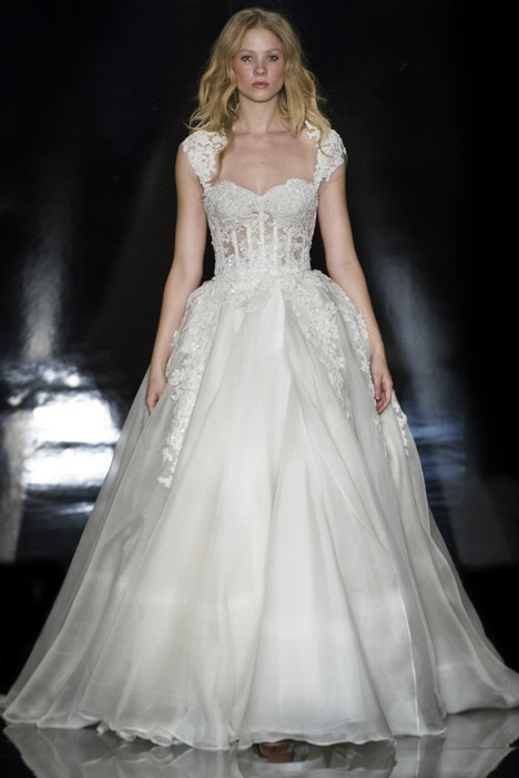 Alia Wedding                                          dress by Reem Acra