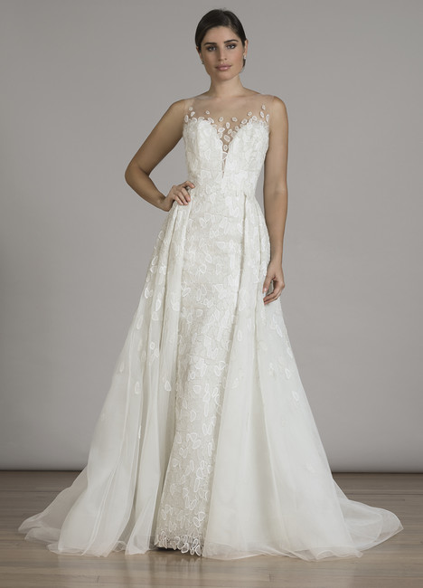 6848 (+ overskirt) gown from the 2016 Liancarlo collection, as seen on dressfinder.ca