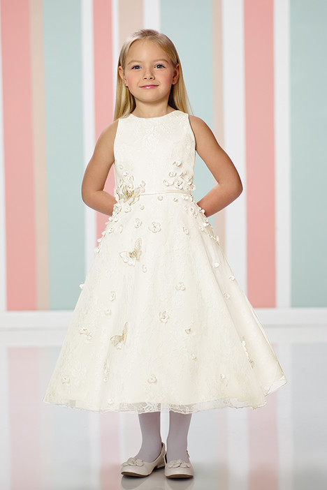 216302 (ivory) Flower Girl                                      dress by Joan Calabrese