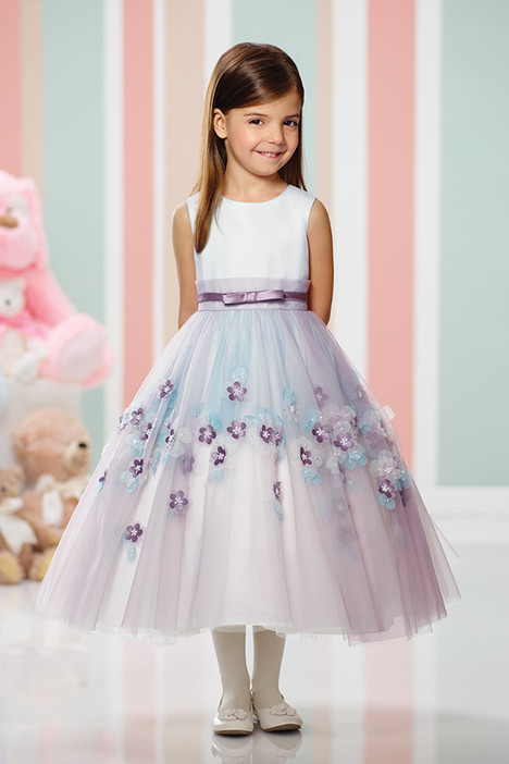 216310 (lavender) Flower Girl dress by Joan Calabrese