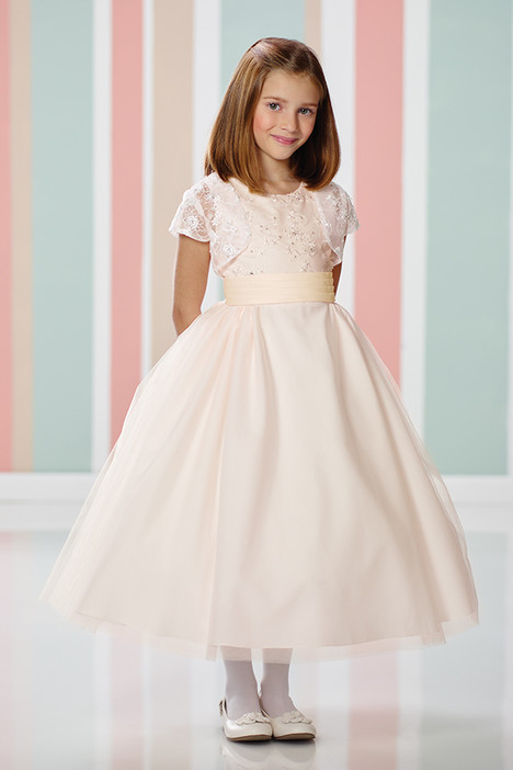 216312 (+ jacket) Flower Girl                                      dress by Joan Calabrese
