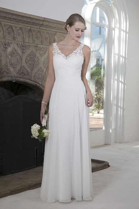VN6909 Wedding                                          dress by Venus Informal
