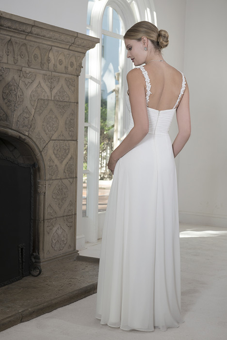 VN6909 (back) Wedding                                          dress by Venus Informal