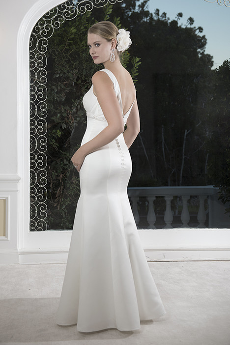 VN6910 (back) Wedding                                          dress by Venus Informal