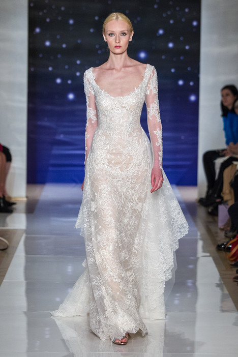 Couture Wedding                                          dress by Reem Acra