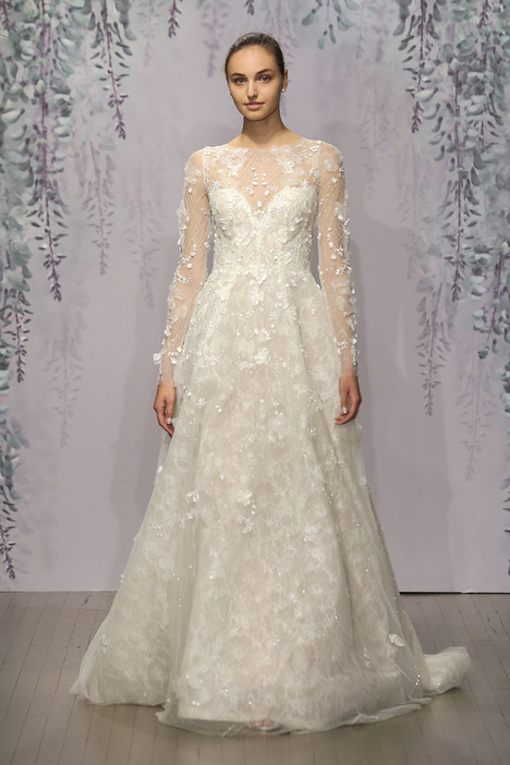 Veneta Wedding                                          dress by Monique Lhuillier