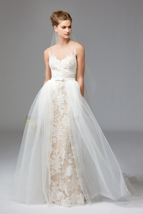 1012B + 1086B (overskirt) gown from the 2016 Watters Brides collection, as seen on dressfinder.ca