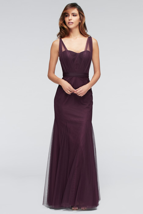1307 (2) (eggplant) Bridesmaids dress by Watters Bridesmaids