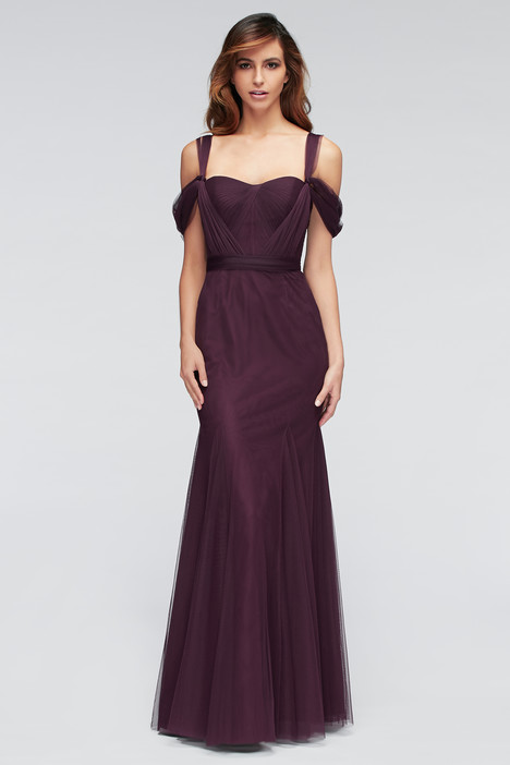 1307 (4) (eggplant) Bridesmaids dress by Watters Bridesmaids