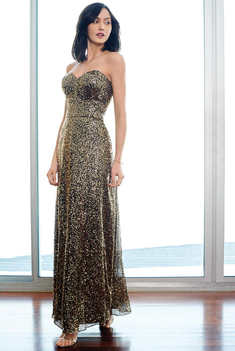 5261L (gold) Bridesmaids                                      dress by Colour by Kenneth Winston