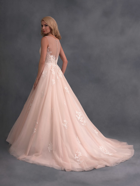 2577 (back) Wedding                                          dress by Alfred Angelo