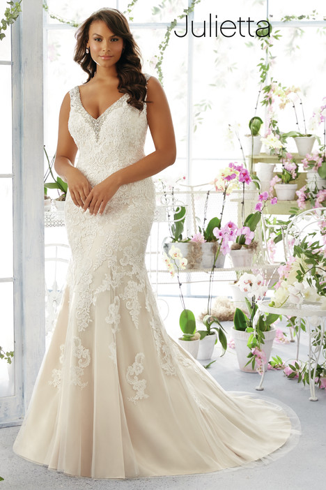 3195 Wedding                                          dress by Mori Lee: Julietta