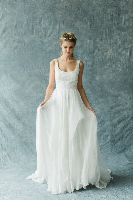 Arabesque (top)+Stratosphere (skirt) Wedding dress by Carol Hannah : Synthesis