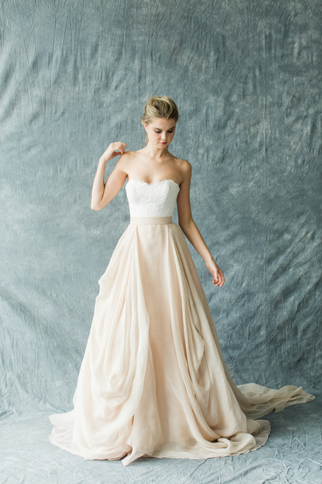 Fleur (top) + Kensington (skirt) Wedding dress by Carol Hannah : Synthesis